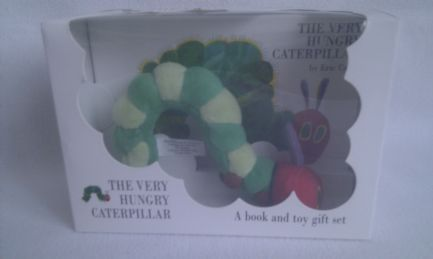 Adorable 'The Very Hungry Caterpillar' Book & Toy Gift Boxset BNIB